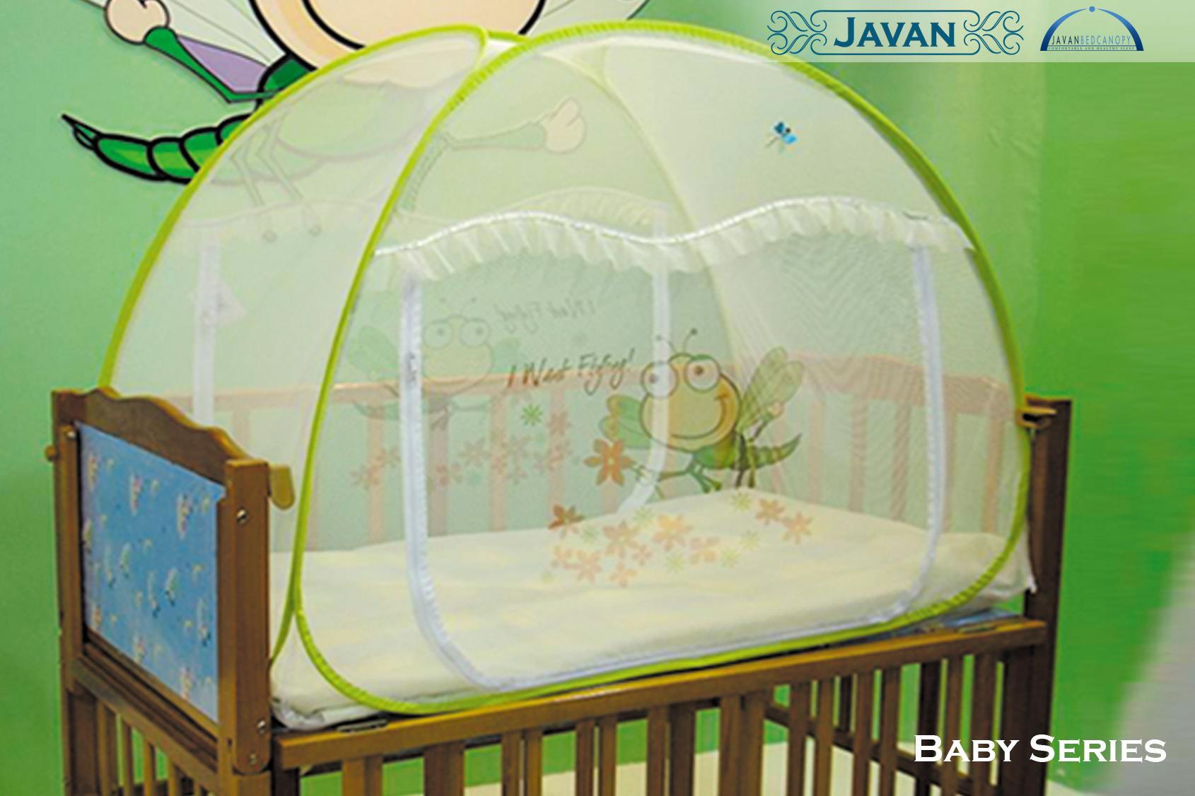 - Baby-series-design Javan Bedcanopy - Javan Bedshield Back
